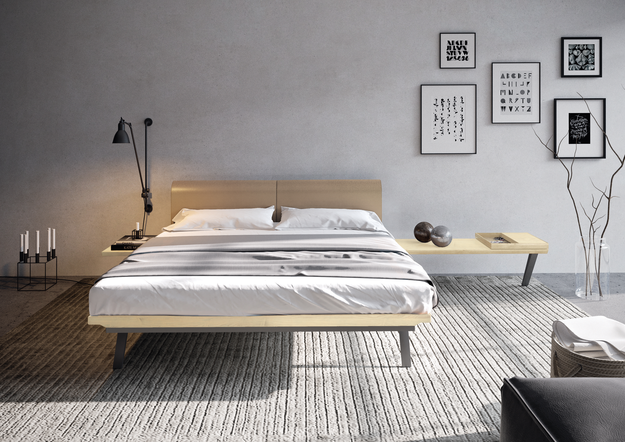 release date: 4df03 c51f0 Madera bed by hulsta-werke Huls GmbH & Co. KG | Archello