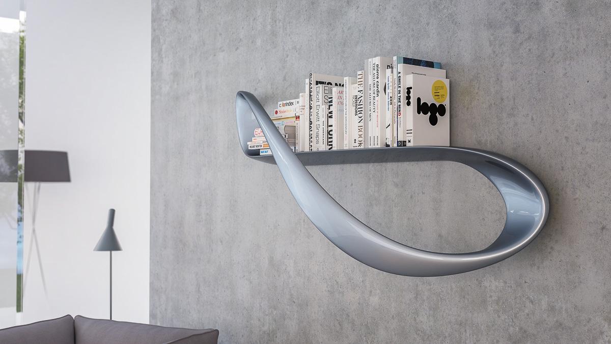 Lemniskata Shelf by Nüvist