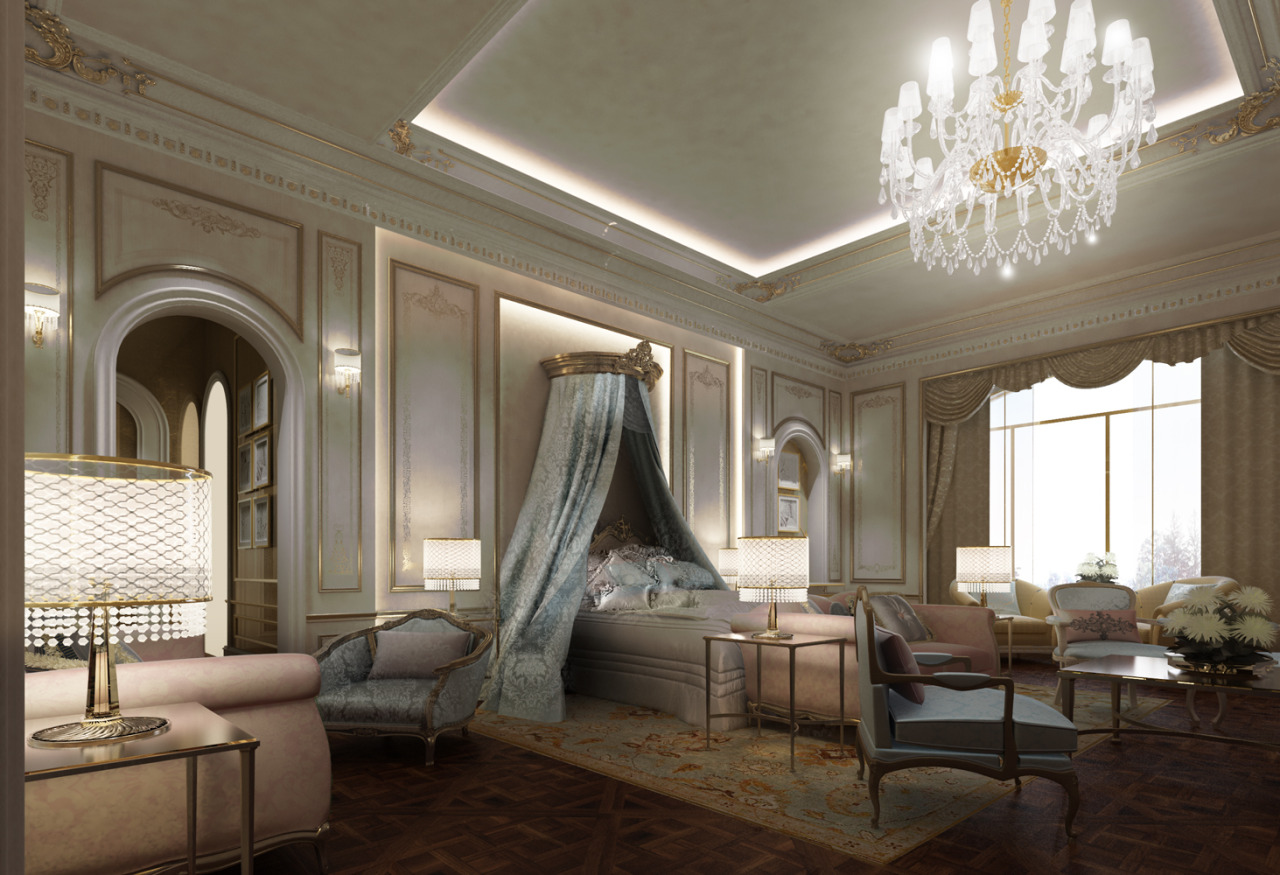 Exploring Luxurious Homes French Style Bedroom Design by IONS
