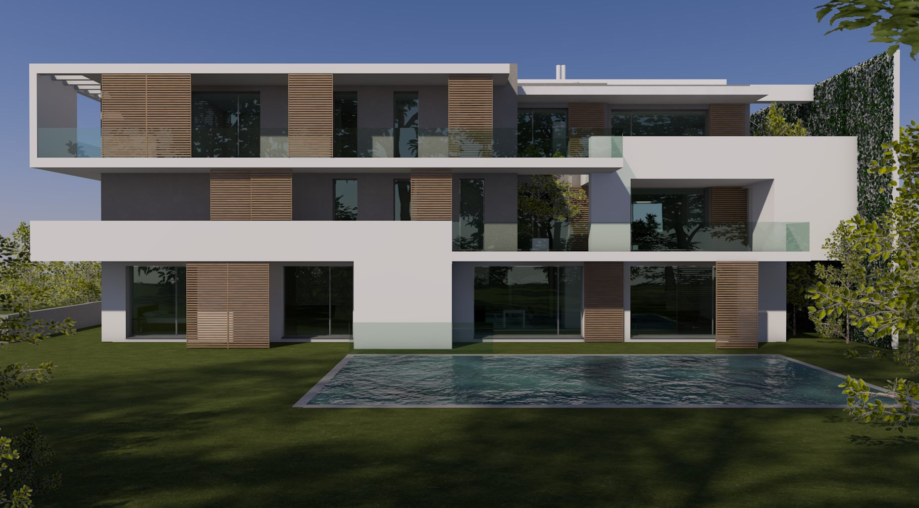 Architettura Sostenibile Architetti ar-house edificio a energia quasi zero (nzeb) | 0-co2