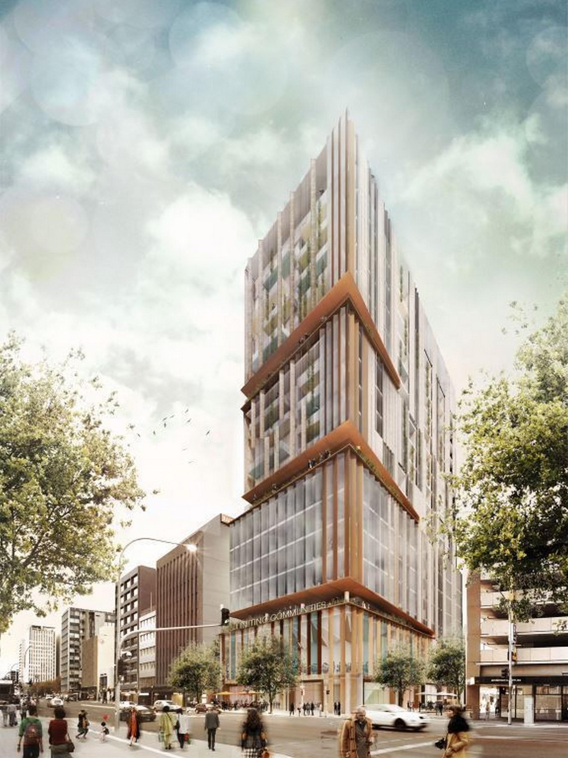 [U/C] 11 Frome Street | 138m | 37 Levels | Crowne Plaza