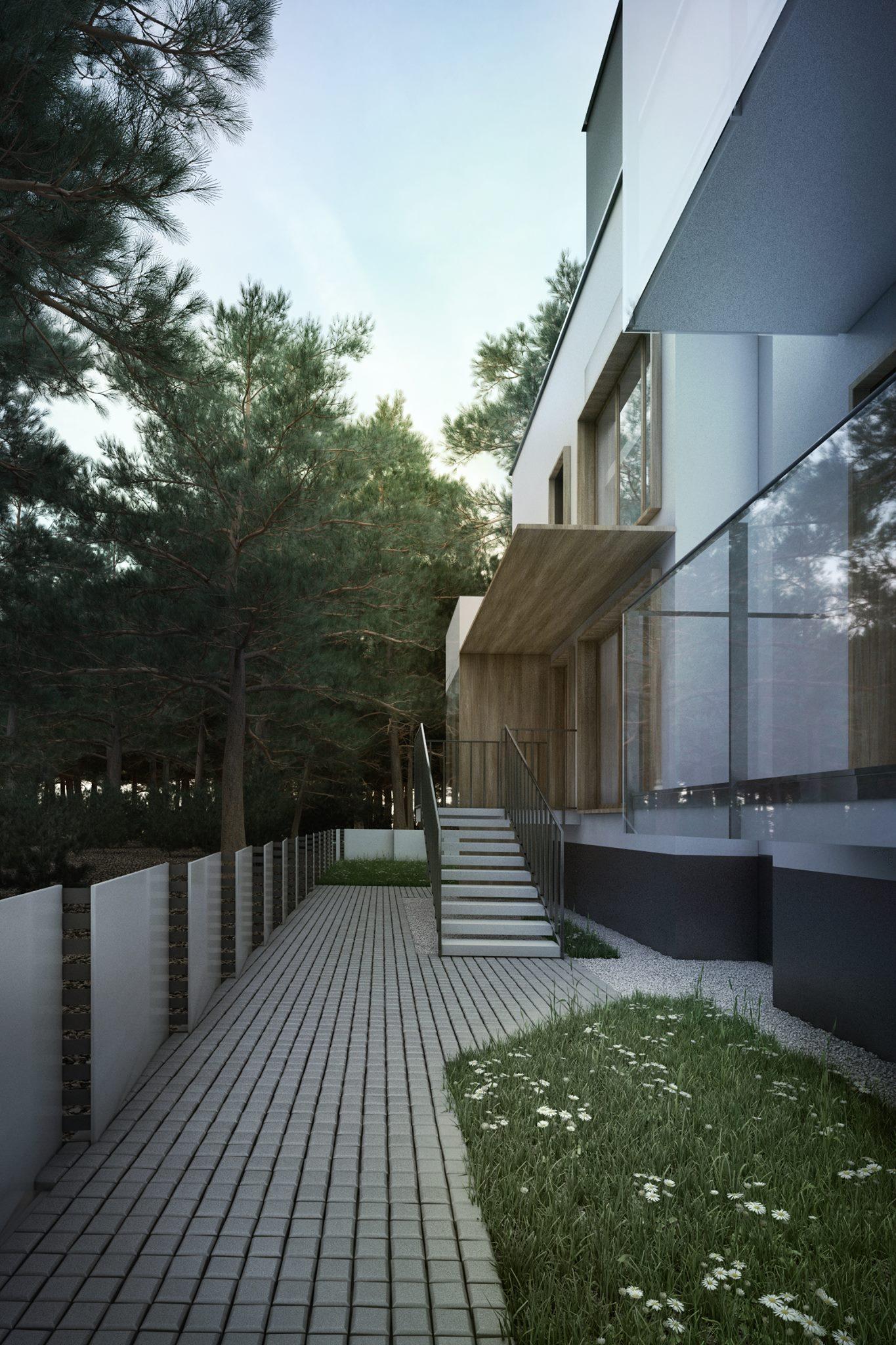 Residential complex, Jurata