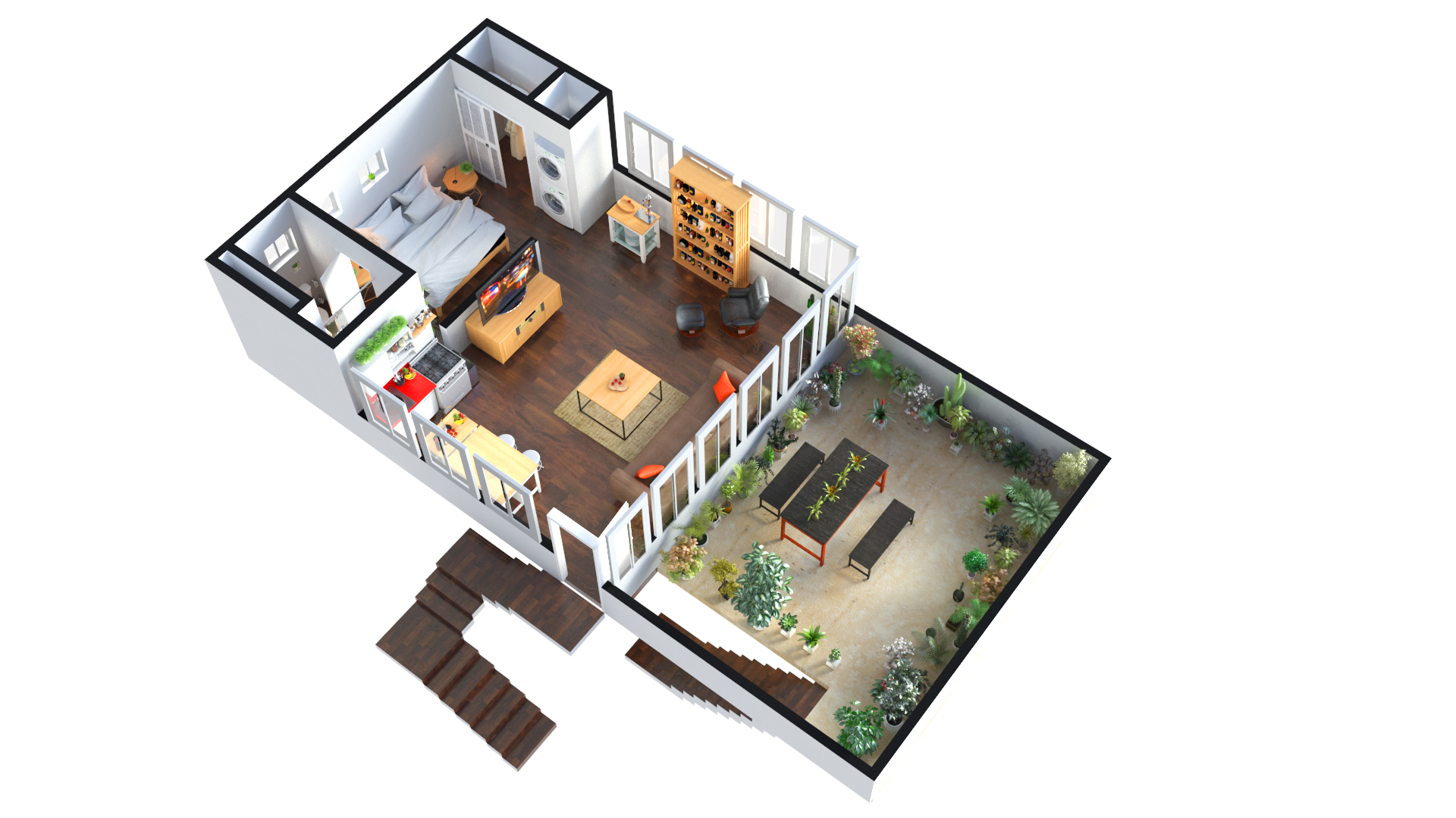 3d floor plan design rayvat rendering studio archello for 3d floor plan
