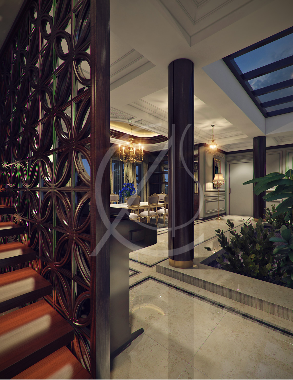 Luxury Kerala House Traditional Interior Design   Comelite ...