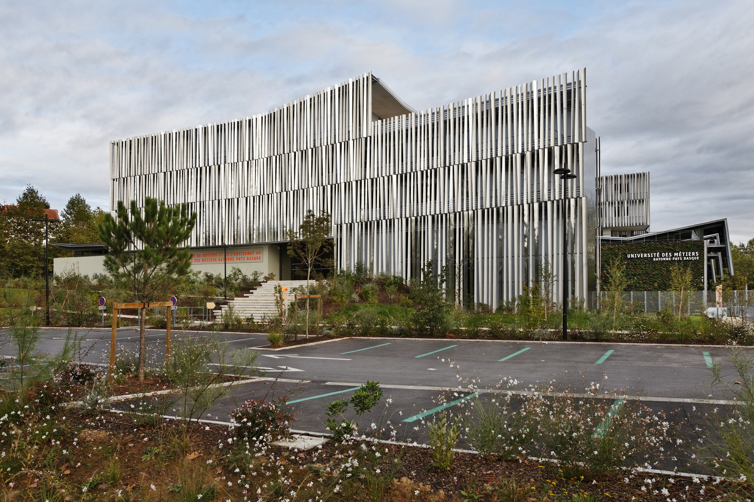 Regional Training Centre And Chamber Of Trades Patrick Arotcharen Architecte Archello