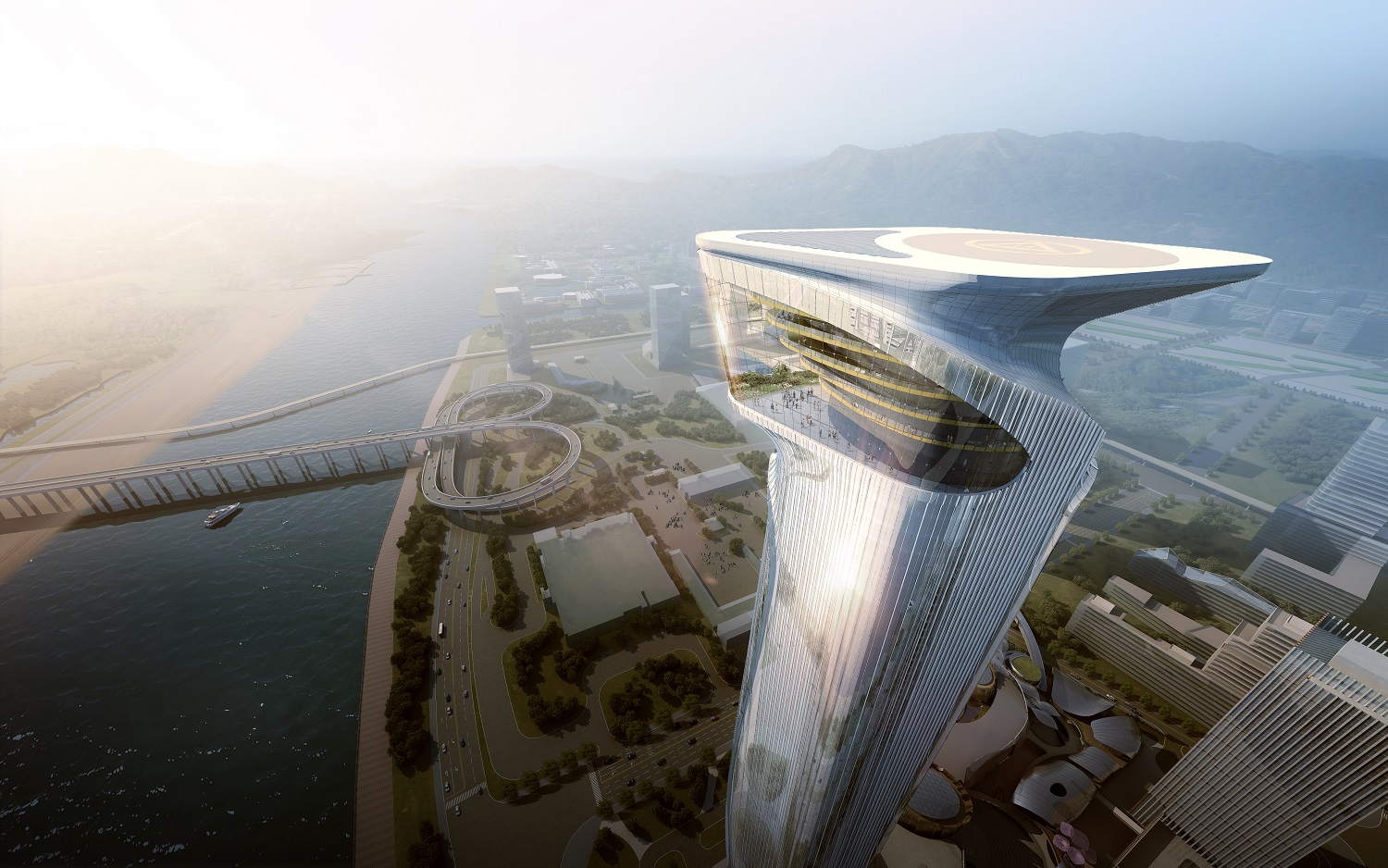Zhuhai Hengqin Headquarters Complex (Phase II), Zhuhai, China