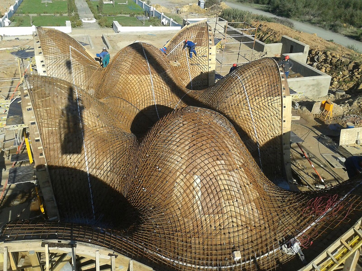 Bosjes Chapel | PERI Formwork Scaffolding Engineering