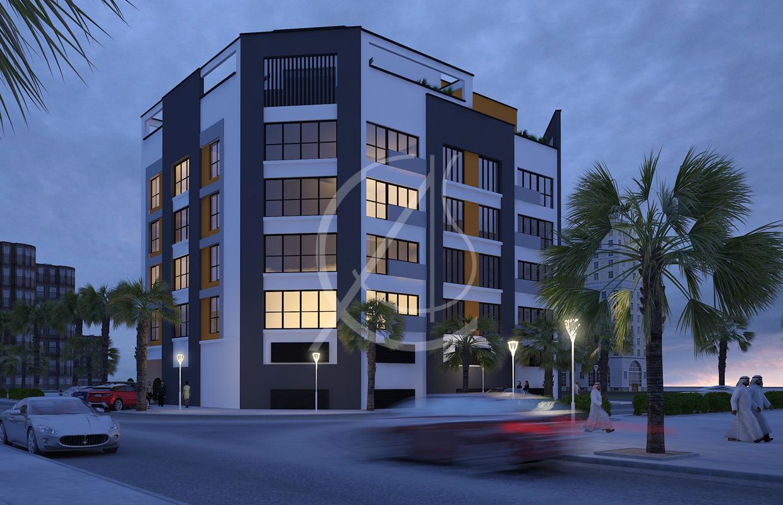 Apartment Contemporary Exterior Design  Comelite Architecture Structure and Interior Design
