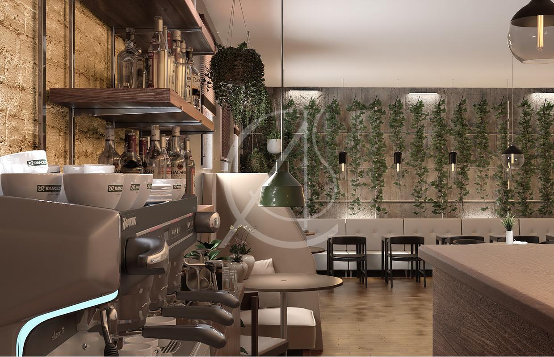 Green Industrial Restaurant Design Comelite Architecture Structure And Interior Design Archello