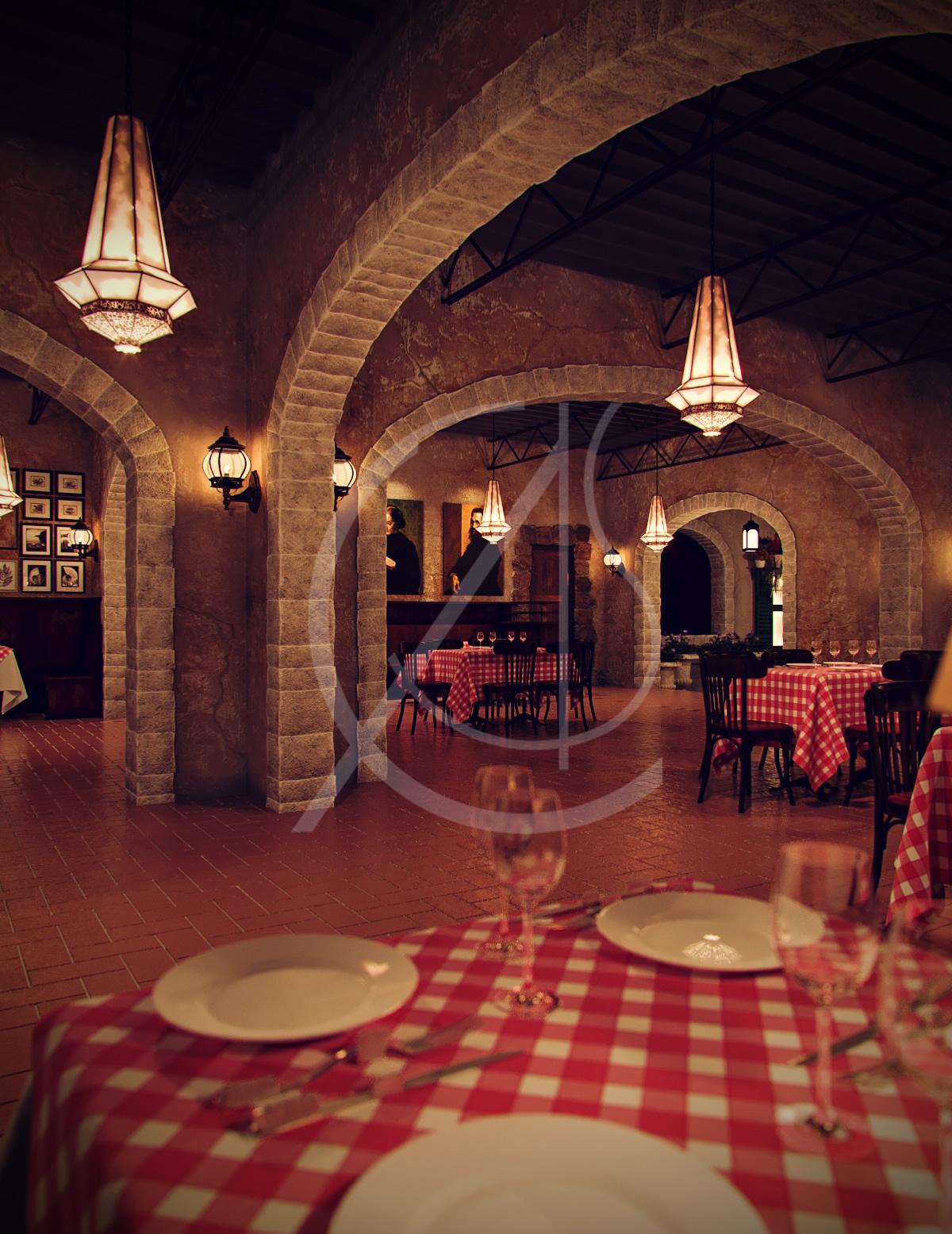 Venezia Italian Restaurant Interior Design Comelite Architecture Structure And Interior Design Archello