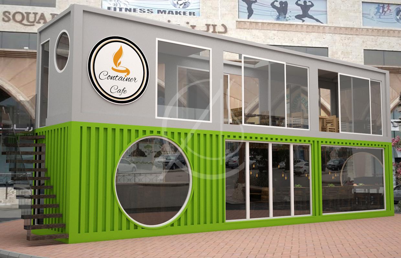 Cafe Container Design Comelite Architecture Structure And Interior Design Archello