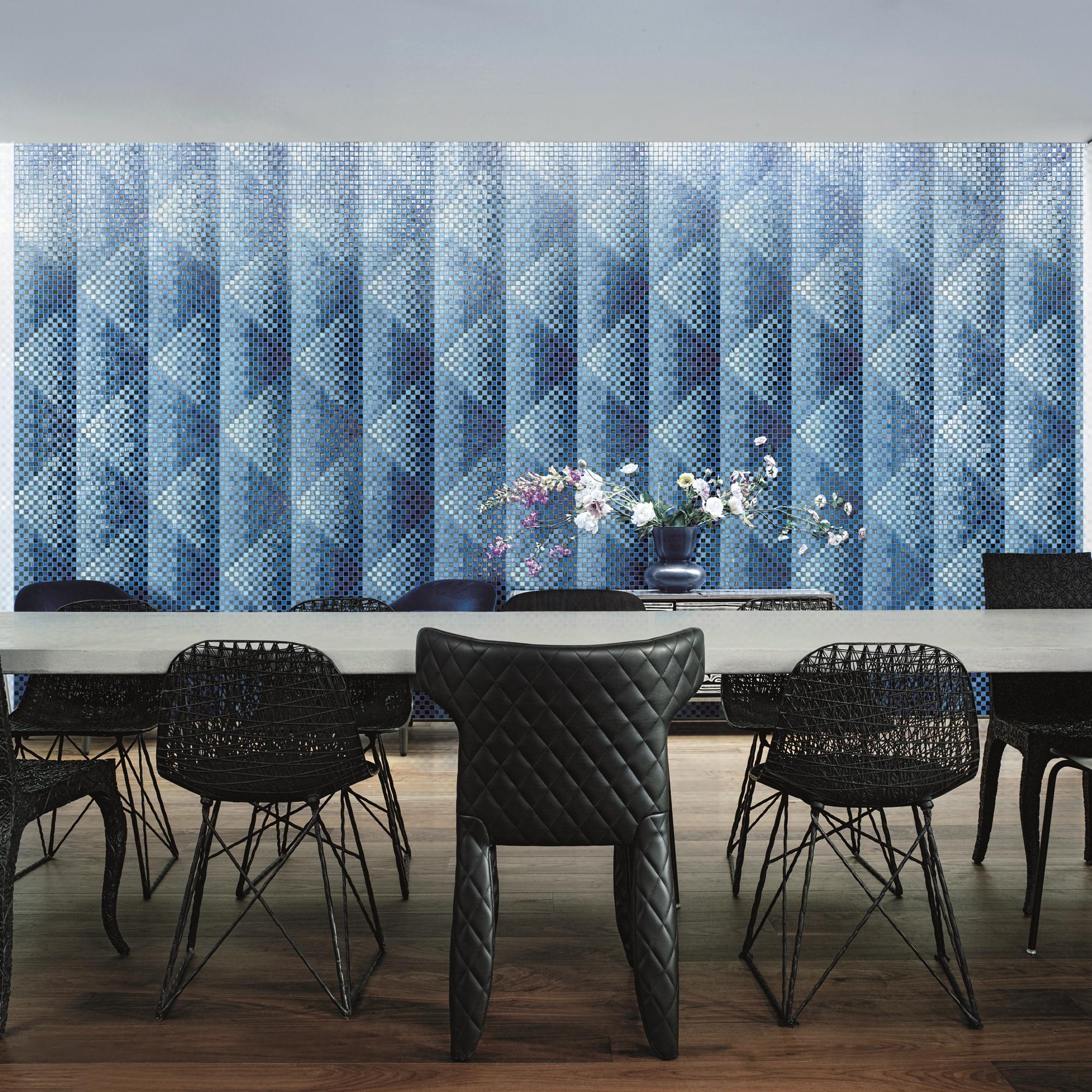 Glass mosaic - new decorations
