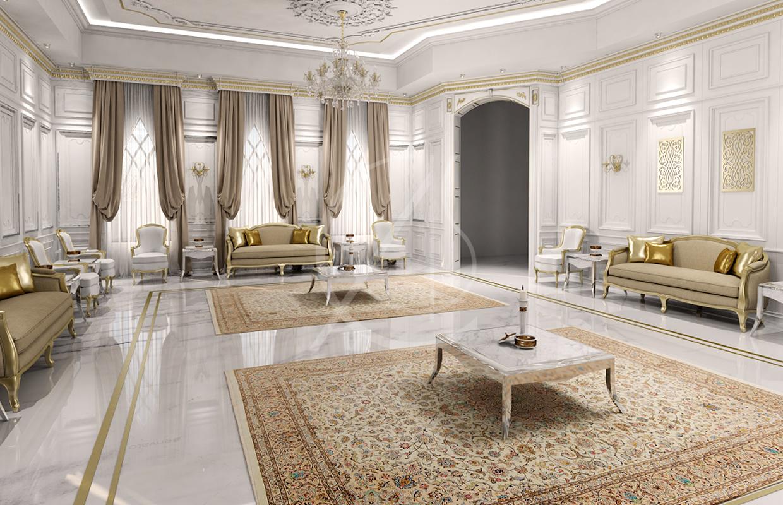 Classic Luxury Villa Interior Design   Comelite ...