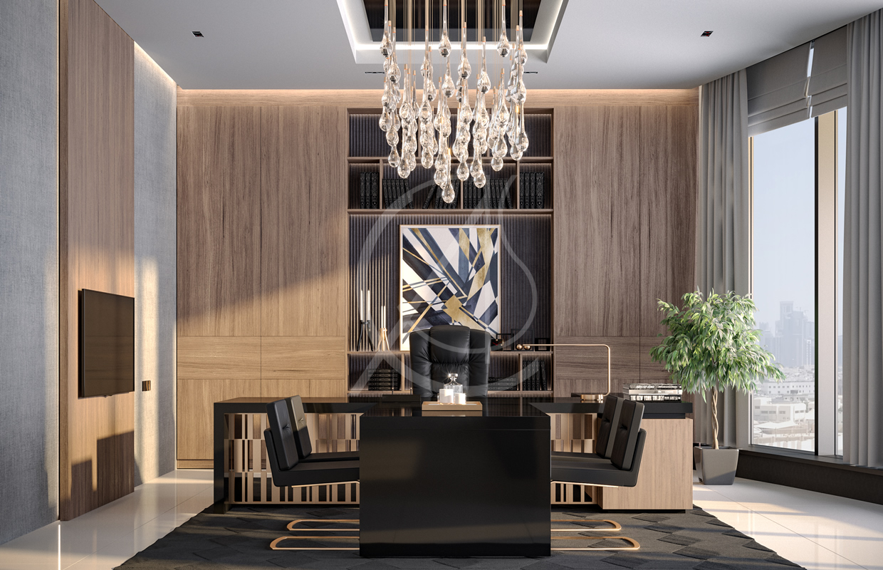Modern Luxury Ceo Office Interior Design Comelite