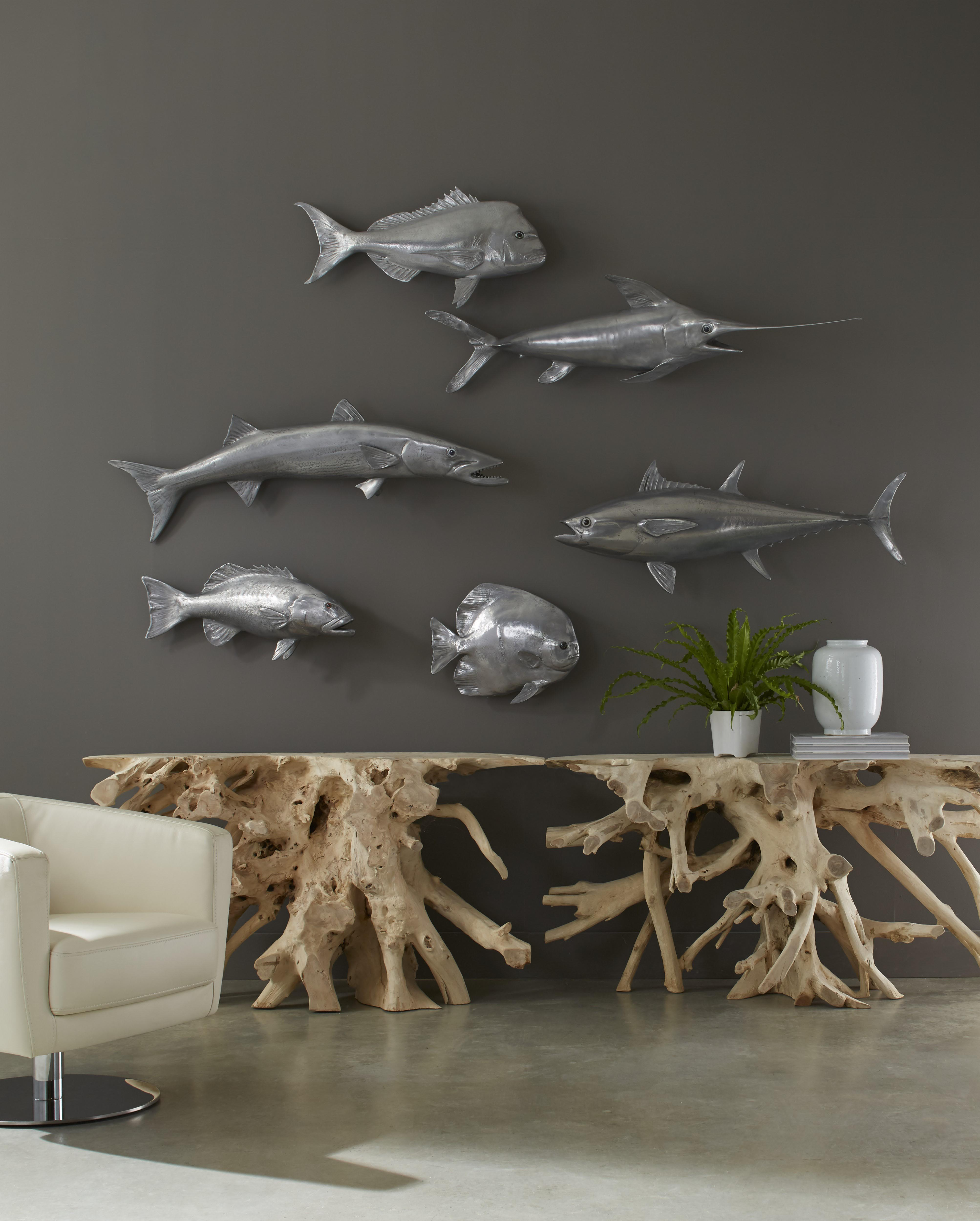 Fish Wall Decor By Phillips Collection Media Photos And