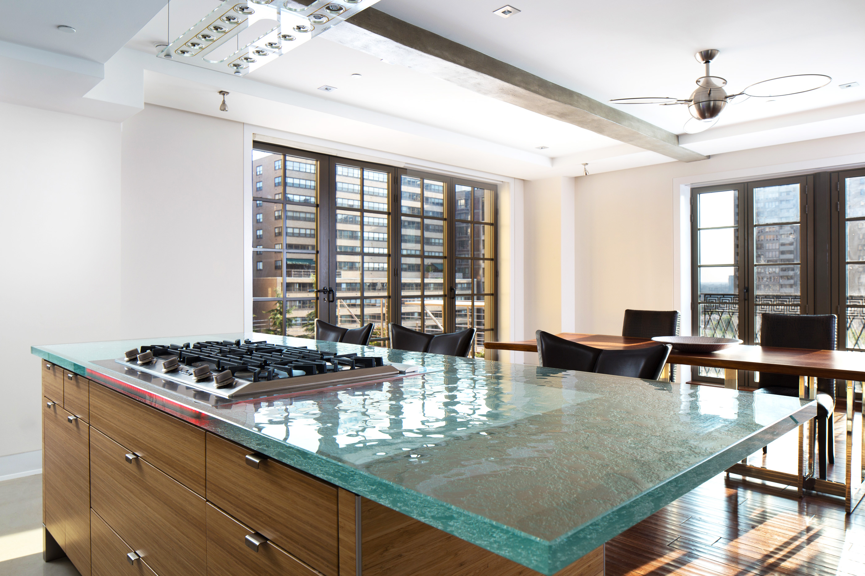 Thermoformed Glass Countertop By Thinkglass Inc Archello