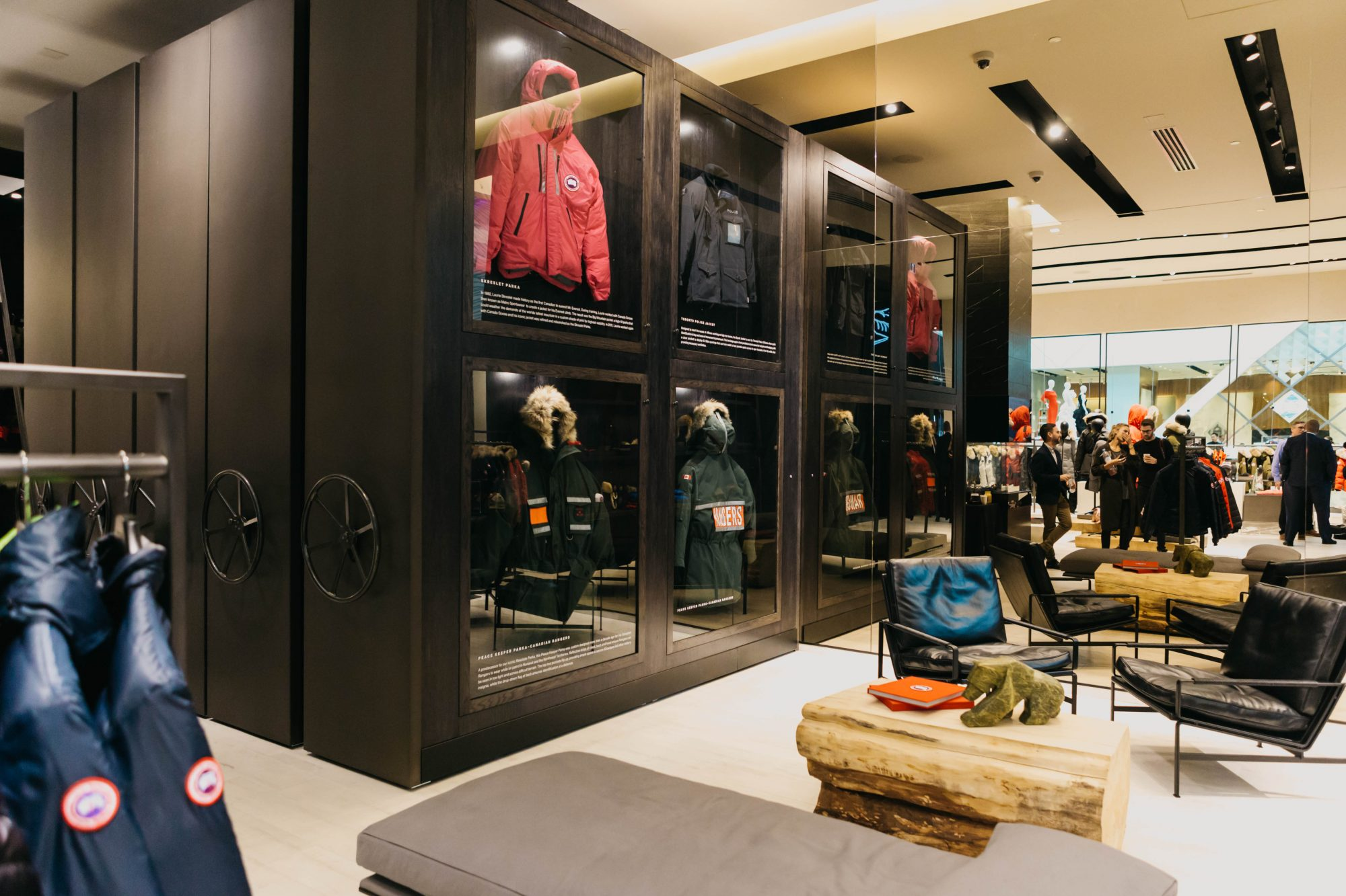 Canada Goose Retail Spacesaver Solutions Archello