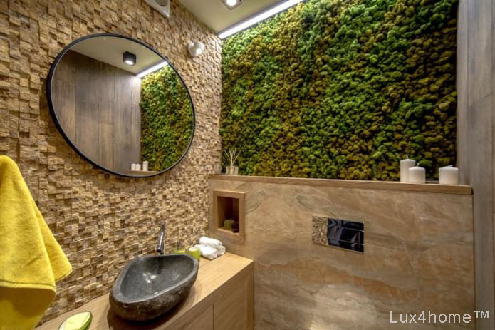 . River Stone Sinks   Natural Stone Wash Basin by Lux4home   Media
