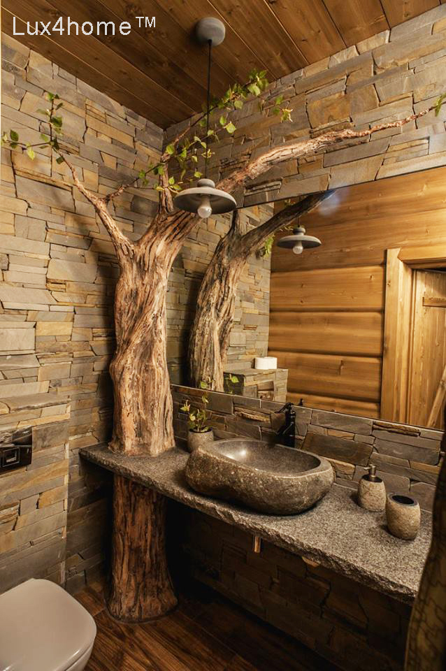 River Stone Sinks Natural Stone Wash Basin By Lux4home Media Photos And Videos 16 Archello