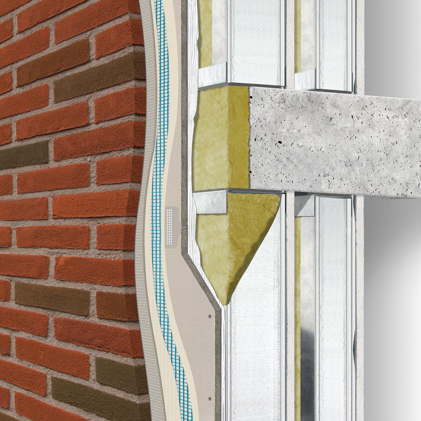 Exterior walls fa ades by knauf aquapanel gmbh co kg - Knauf aquapanel exterior cement board prices ...