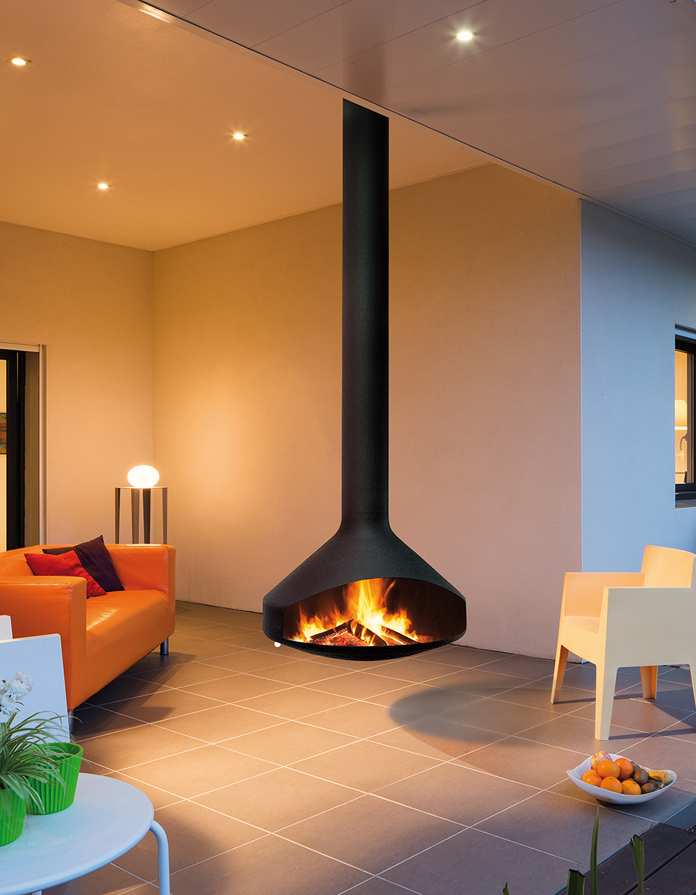 Ergofocus Outdoor Fireplace