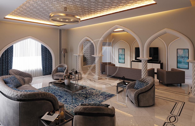 Modern Islamic Home Interior Design Comelite Architecture Structure And Interior Design Media Photos And Videos 3 Archello