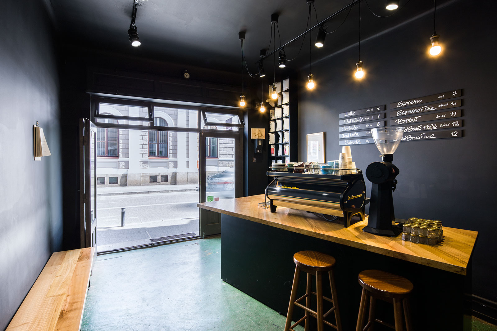 Coffee Shop Interior Atelier Mass Media Photos And Videos 1