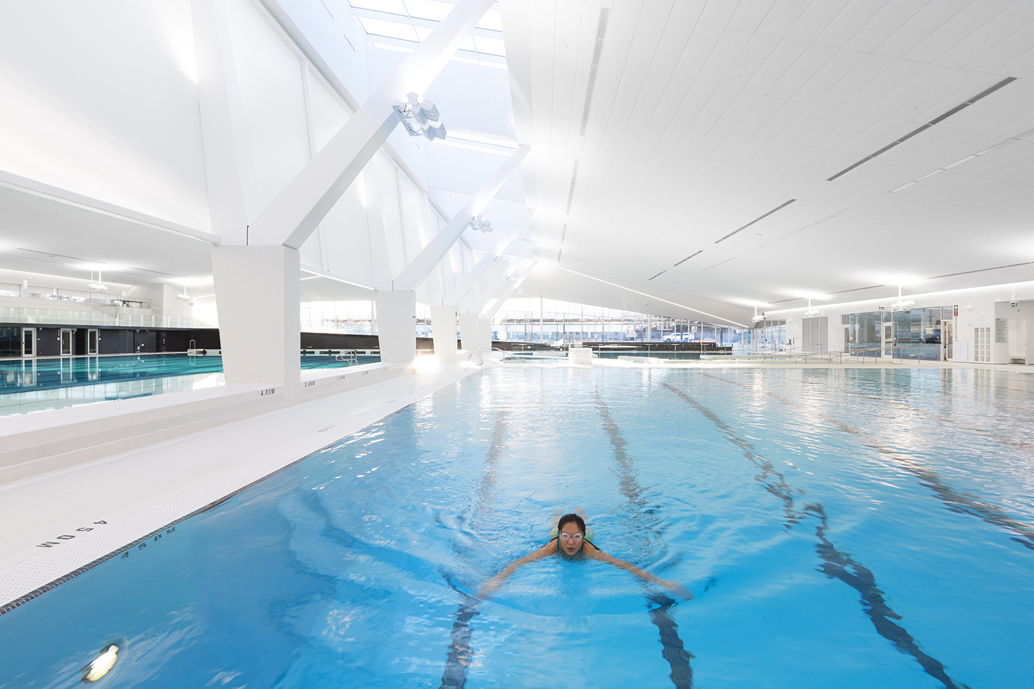 Ubc aquatic centre mjma archello for Columbia university swimming pool