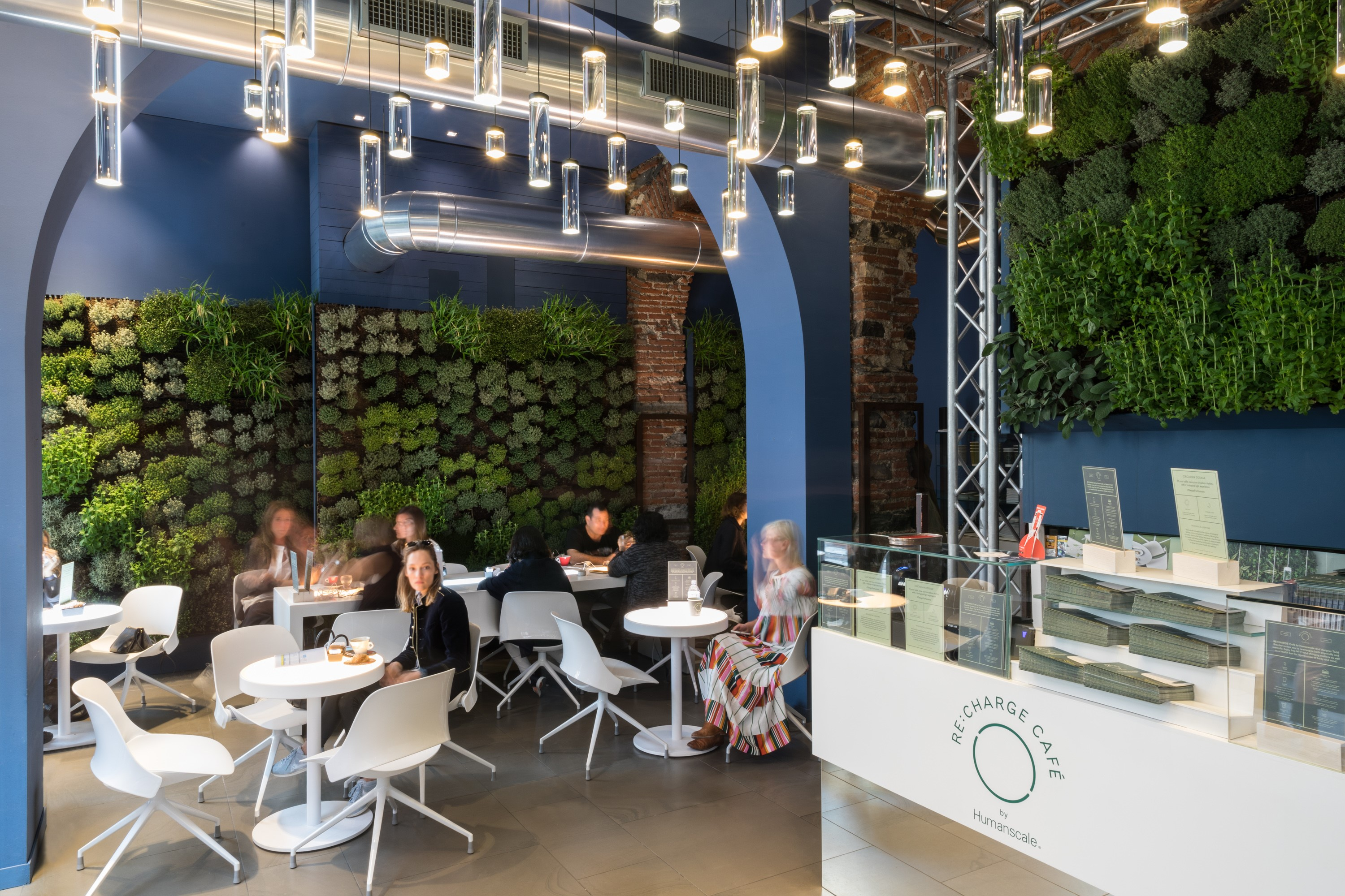 Humanscale Unveils Re Charge Café For Fuorisalone