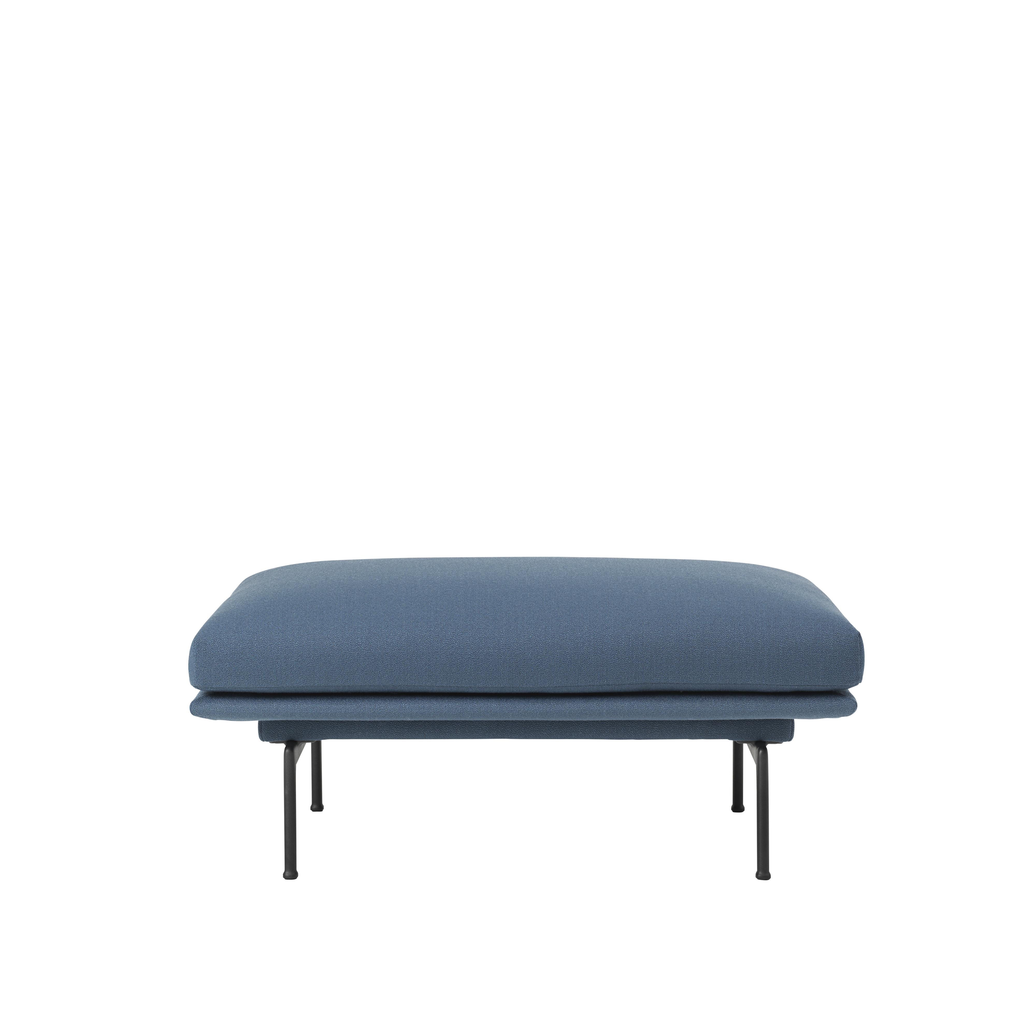 Outline Sofa Pouf By Muuto Archello
