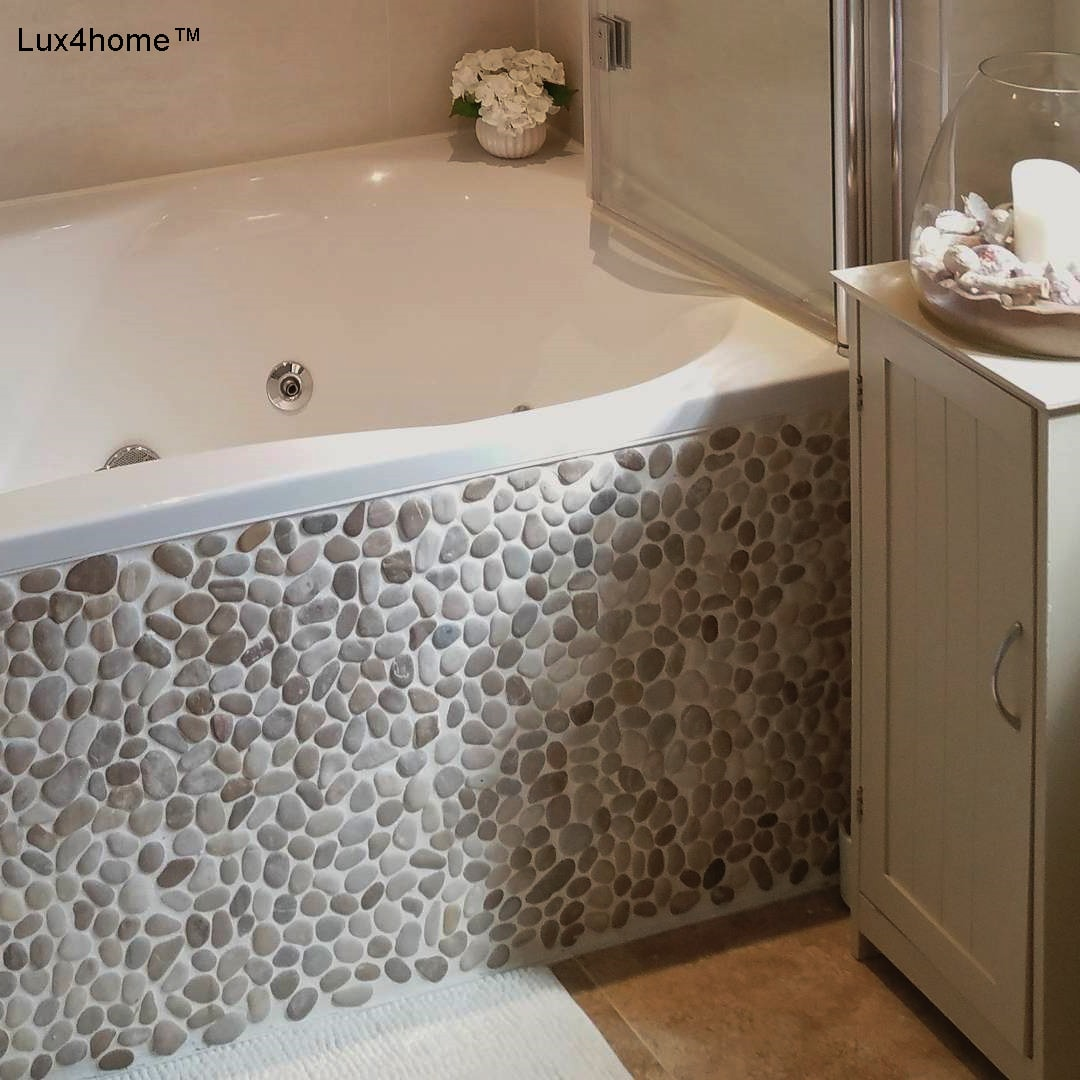 Charmant Beige Pebble Tiles Supplier   Pebble Stone Wall