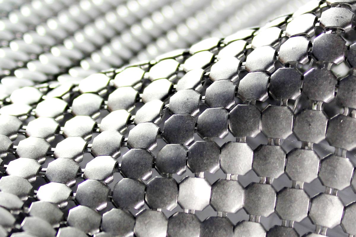alphamesh scale mesh 5.8 aluminium