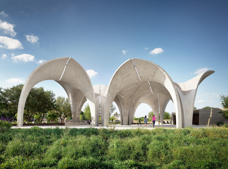 Confluence Park River Pavilion Lake Flato Architects Archello