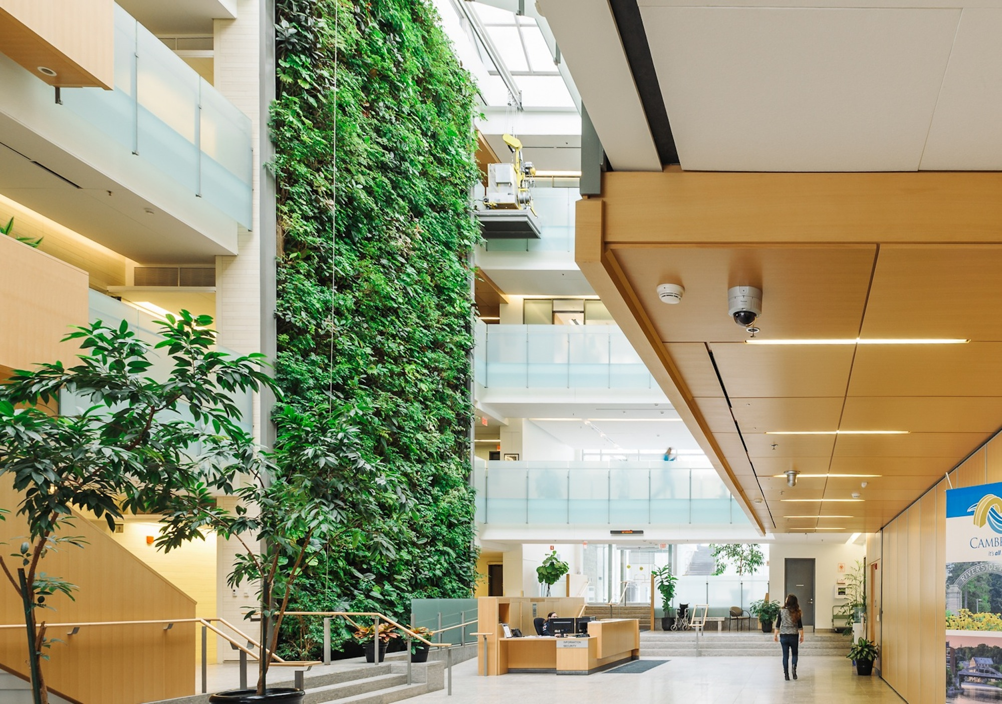 Government Building Living Wall Biofilters
