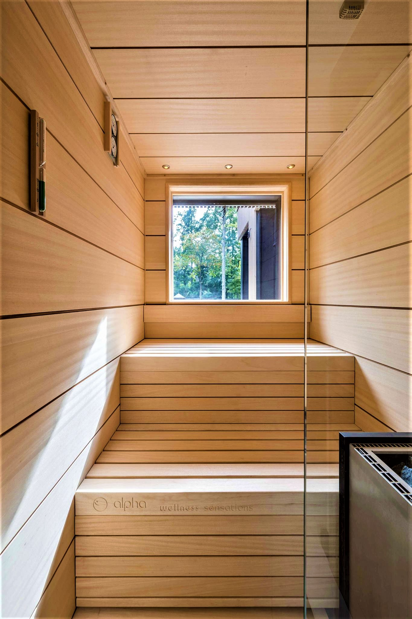Steam Room And Traditional Sauna