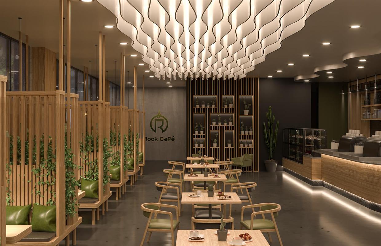 Modern Cafe Design Rock Cafe Comelite Architecture Structure And Interior Design Archello