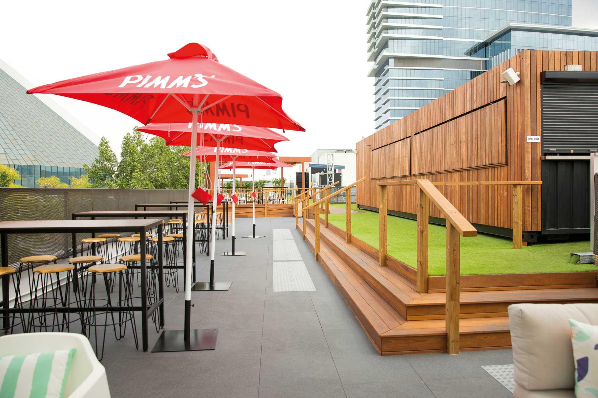 Hi Line Rooftop Bar Impertek S R L Archello