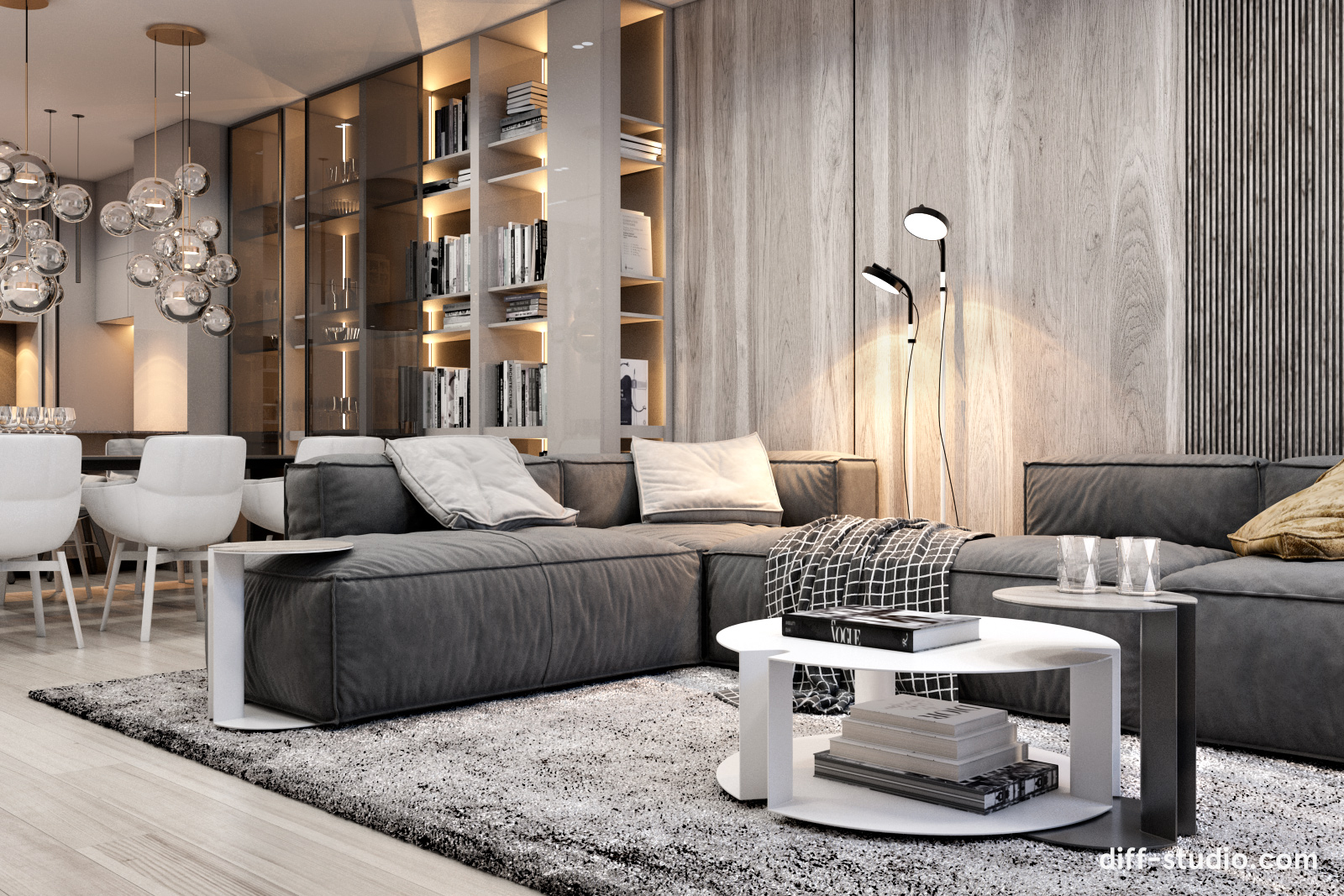 Modern Functional Apartment In Moscow Diff Studio Archello