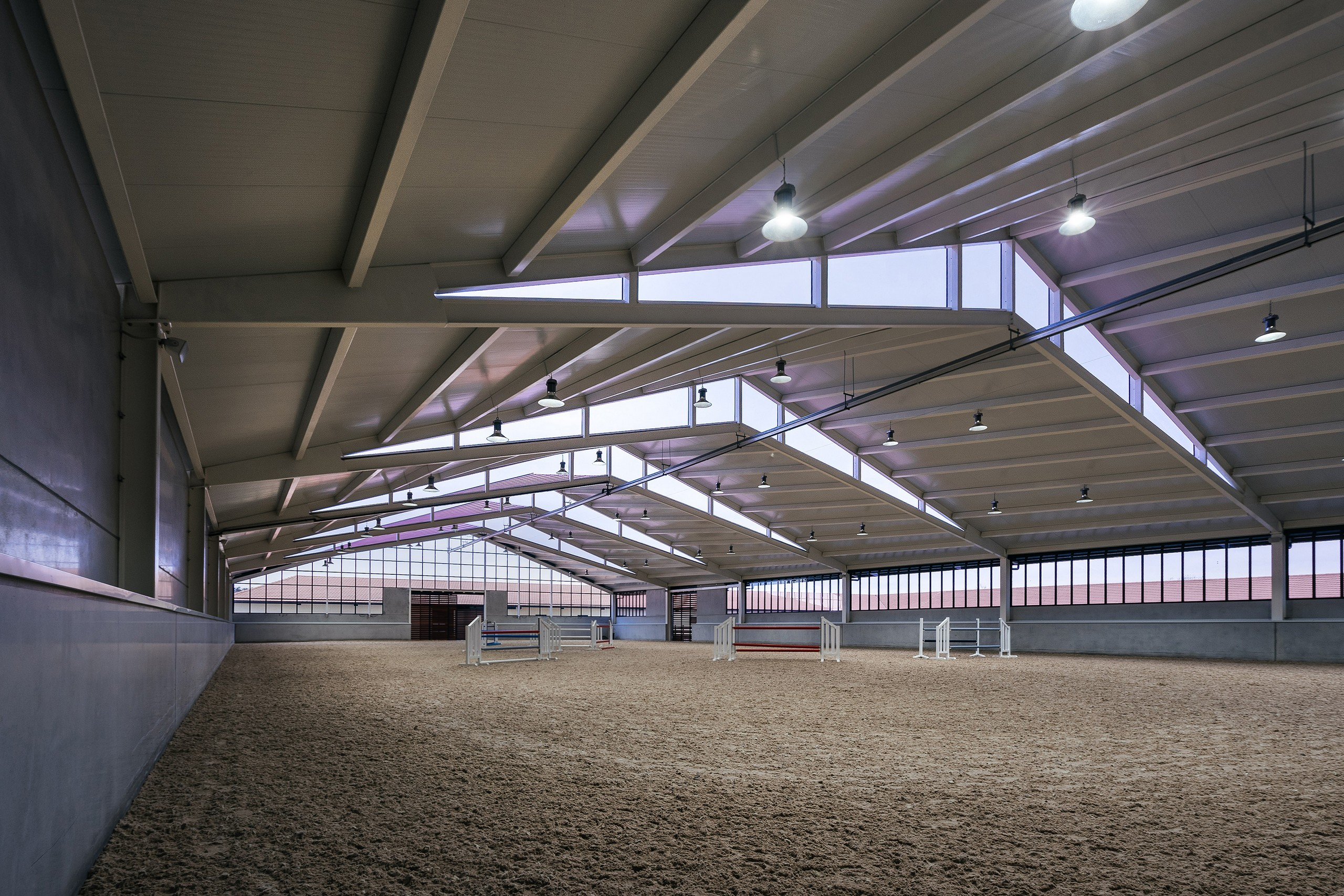 Horse Riding Field In Cattle Farm Ooiio Architecture Media Photos And Videos 8 Archello