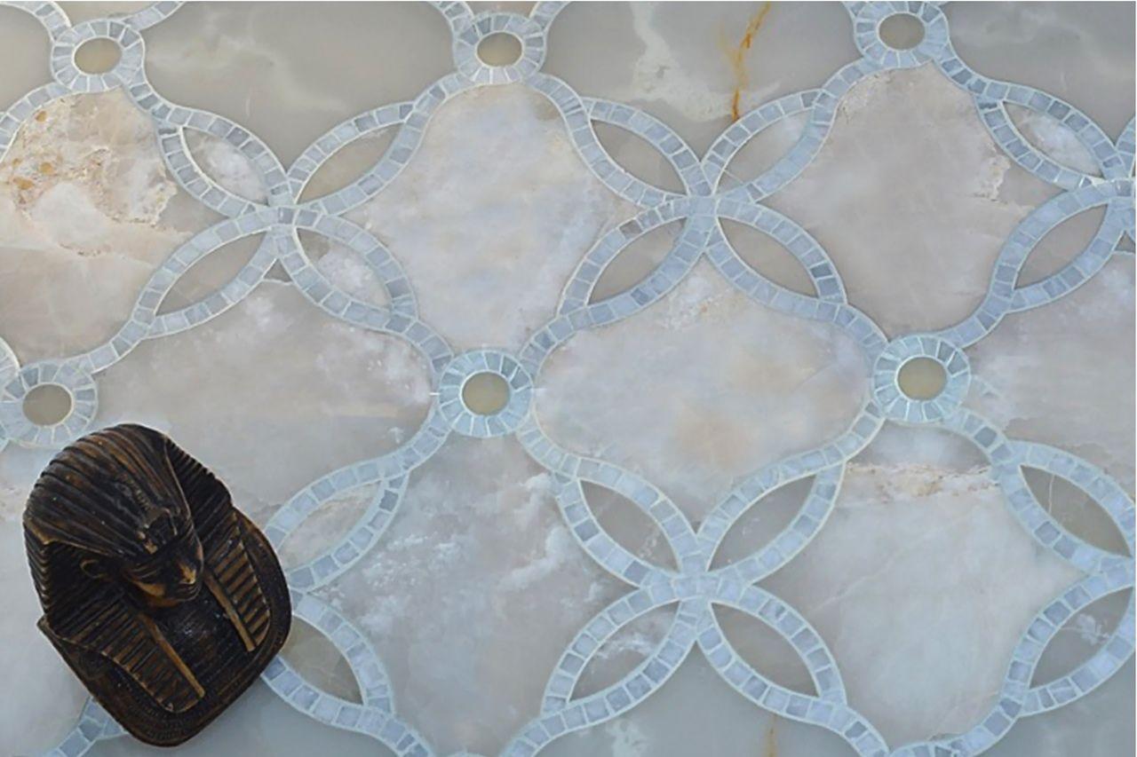 CALMO - Marcella Waterjet Tiles & Mosaic