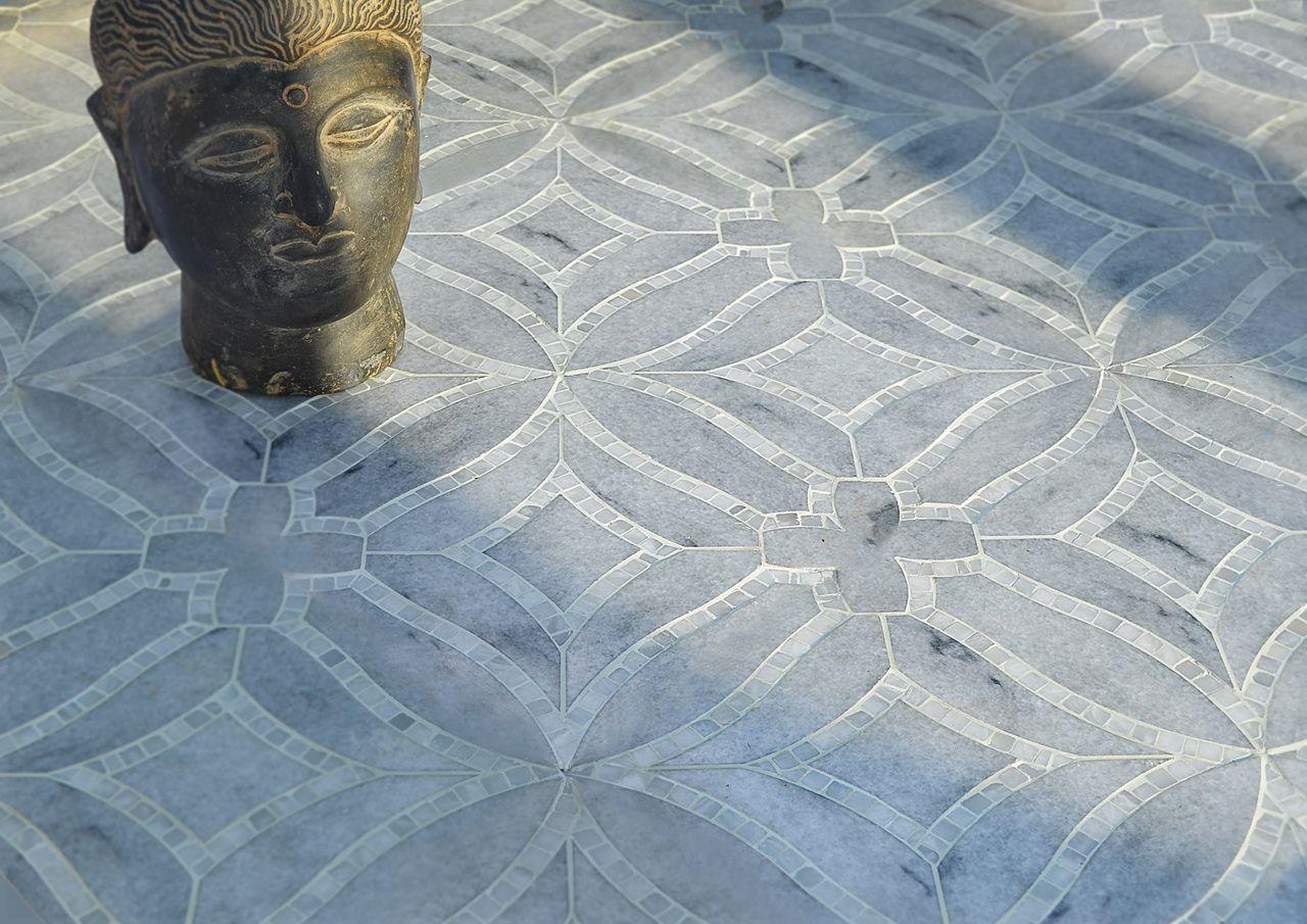 INAMO - Marcella Waterjet Tiles & Mosaic
