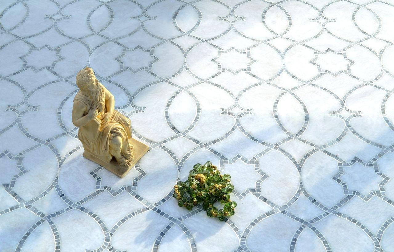 MAROCK - Marcella Waterjet Tiles & Mosaic