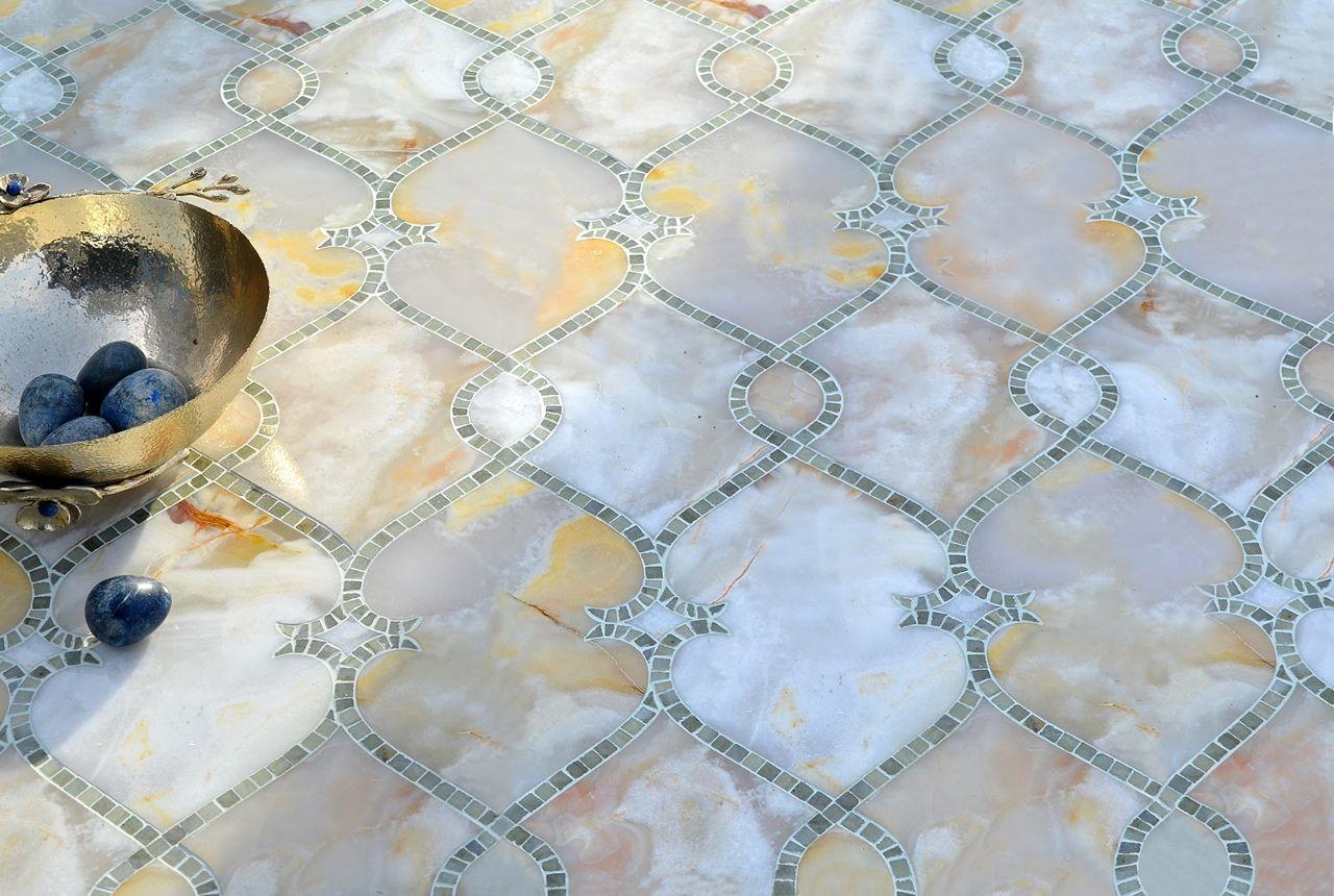 ORGANZA - Marcella Waterjet Tiles & Mosaic