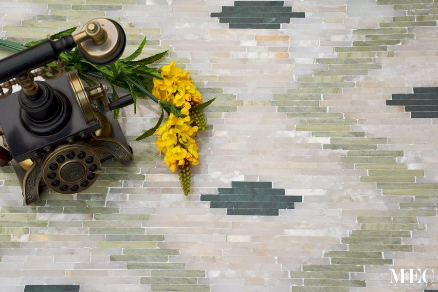 KNUTE - Ikat Marble Flooring