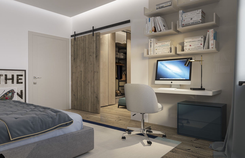 Modern Bedrooms Interior Design Comelite Architecture Structure And Interior Design Medios De Comunicacion Renders 12 Archello