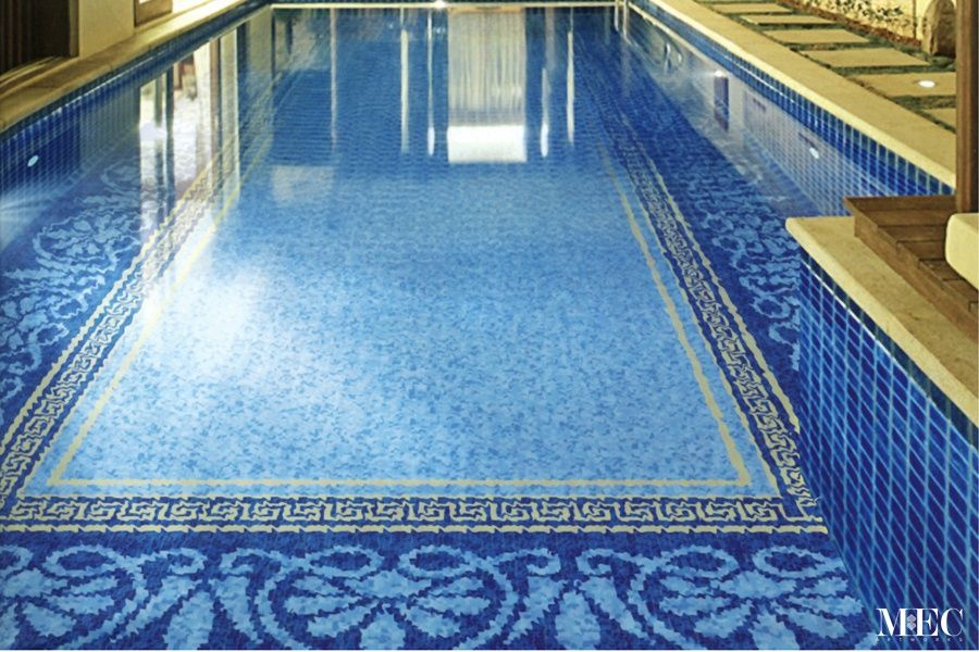 SWIMMING POOLS - Glass Mosaic Tiles by MEC Artworks | Media ...