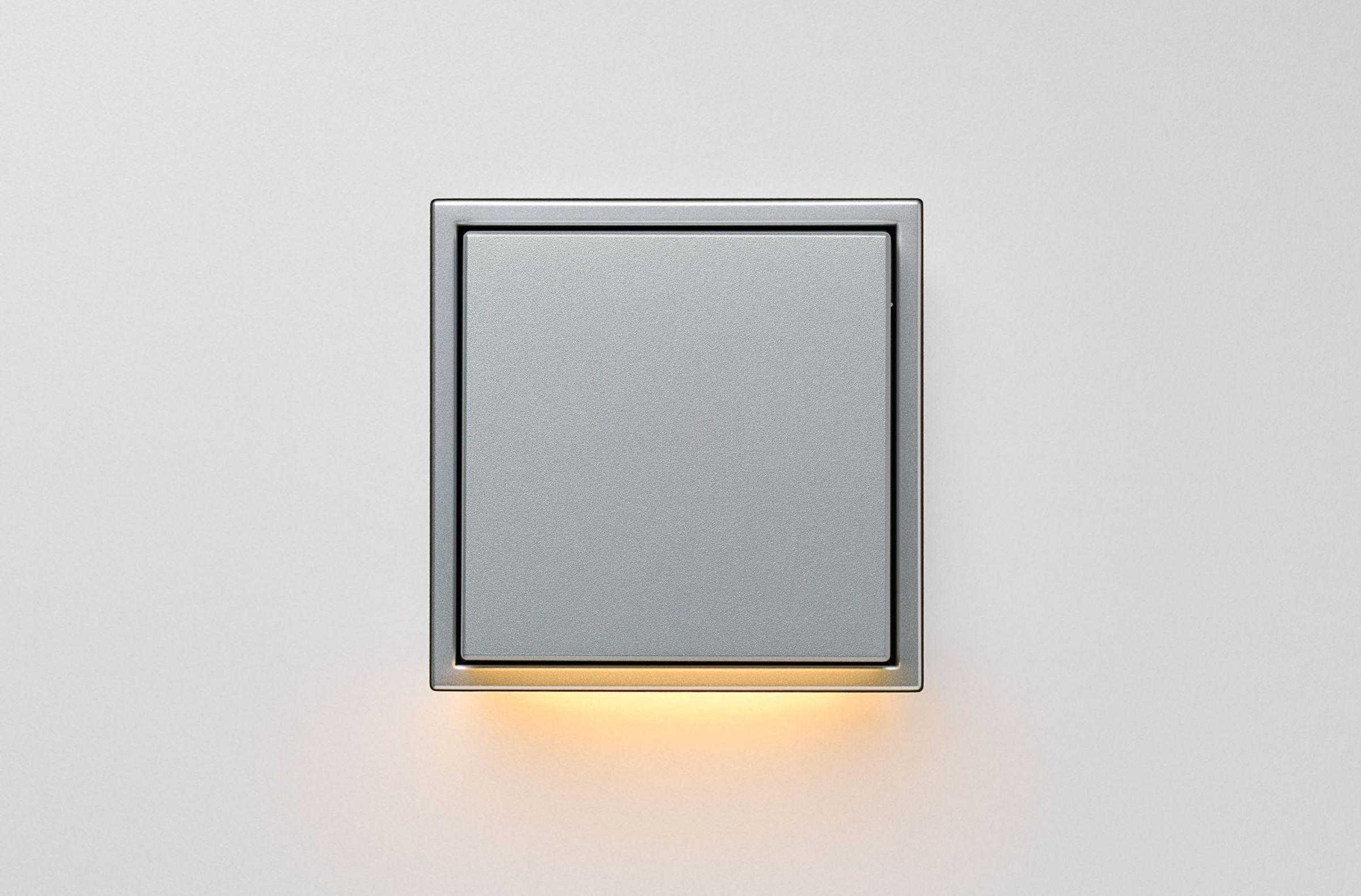 LS Zero LED Wall Luminaire aluminium
