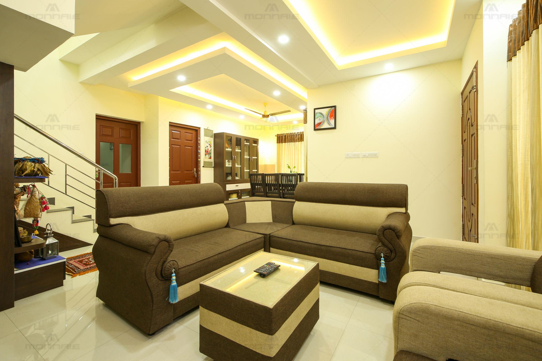 Minimalistic Home Interior Designers Kochi Kerala Monnaie Architects Interiors Archello