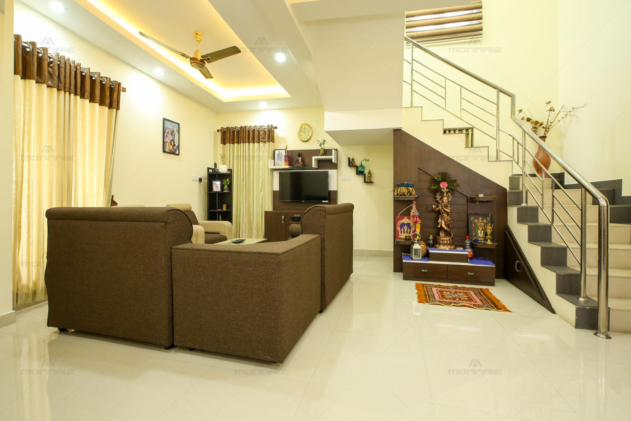 Minimalistic Home Interior Designers Kochi Kerala Monnaie Architects Interiors Medios De Comunicacion Fotos Y Videos 2 Archello