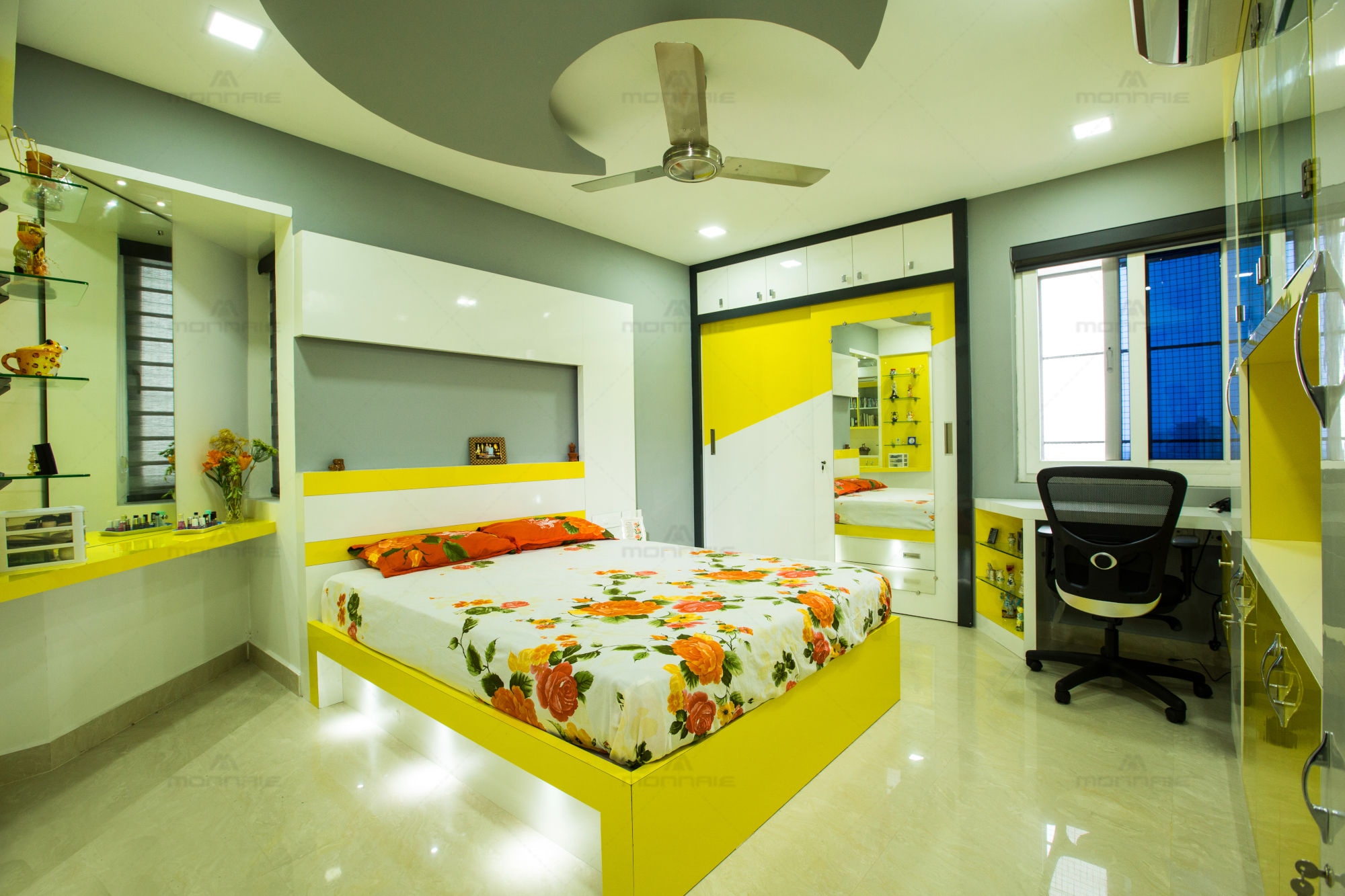 Home Interiors Bedroom Color Ideas Kochi Kerala Monnaie Architects Interiors Media Photos And Videos 3 Archello